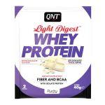 QNT Light Digest Whey Protein Η Νέα Γενιά Πρωτεΐνης Με Γεύση White Chocolate 40g