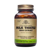 Solgar Milk Thistle Herb Extract (Silybum marianum) Ενισχυμένα Φυτικά Εκχυλίσματα 60 Veg. Caps