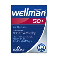 Vitabiotics Wellman 50+ 30 ταμπλέτες