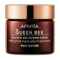 Apivita Queen Bee Kρέμα Ημέρας Προσώπου Ολιστικής Αντιγήρανσης Πλούσιας Υφής Για Ξηρές Επιδερμίδες 50ml