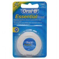 Oral-B Essential Floss Οδοντικό Νήμα Ακήρωτο 50m
