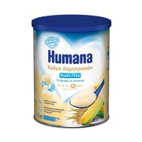 Humana Κρέμα Δημητριακών, χωρίς γάλα 400gr