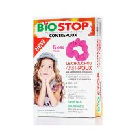 Biostop Αντιφθειρικό Λαστιχάκι Μαλλιών Ροζ