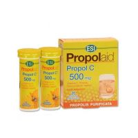 Esi Propolaid Propol C 500mg Συμπλήρωμα Διατροφής Με Πρόπολη Για Το Ανοσοποιητικό 20 Αναβράζουσες Ταμπλέτες