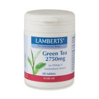 Lamberts Green Tea 2750mg 60 ταμπλέτες