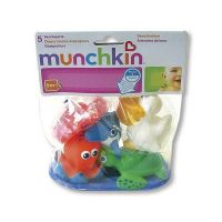 Munchkin Set 5 Μπουγελόφατσες Ζώα της Θάλασσας 9m+