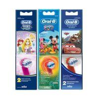 Oral-B Stages Power Disney Ανταλλακτικές Κεφαλές Ηλεκτρικής Οδοντόβουρτσας Extra Soft Σε 3 Σχέδια 2τμχ