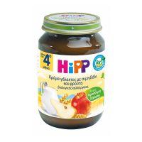 Hipp Βρεφική Κρέμα Γάλακτος με Σιμιγδάλι & Φρούτα 190gr 4m+