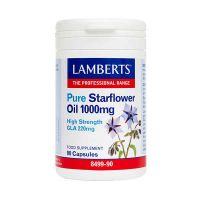 Lamberts Pure Starflower Oil 1000mg 90 κάψουλες