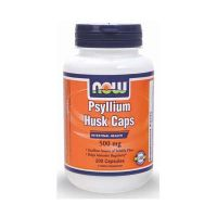 Now Foods Psyllium Husk 500mg 200 κάψουλες