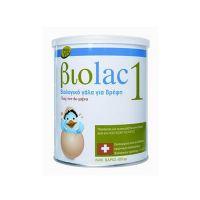Biolac 1 Βιολογικό Γάλα Για Βρέφη Έως Τον 6ο Μήνα 400gr