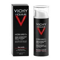 Vichy Homme Hydra Mag C+ Ενυδατική Κρέμα Προσώπου/Ματιών Κατά Της Κούρασης Για Ευαίσθητο Δέρμα 50ml