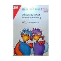 3M Opticlude Mini Οφθαλμικός Ορθοπτικός Επίδεσμος Για Αγόρια & Κορίτσια Με Σχέδιο 5x6.2cm 20τμχ