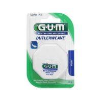 Gum Butlerweave Οδοντικό Νήμα Waxed 54m