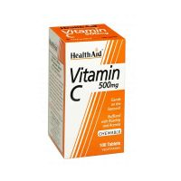 Health Aid Vitamin C 500mg Chewable 100 μασώμενα δισκία