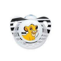 Nuk Trendline Disney Lion King Σιλικόνης Άσπρη 6-18m 1τμχ