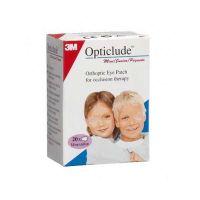 3Μ Opticlude Mini Οφθαλμικός Ορθοπτικός Επίδεσμος Για Αγόρια & Κορίτσια 5*6,2cm 20τμχ