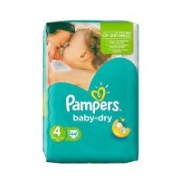 Pampers Baby Dry No 4 (7-18Kg) 44τμχ