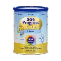 Wyeth Γάλα S-26 Progress Gold 3 (1-3 ετών) 400gr