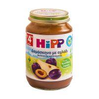 Hipp Φρουτόκρεμα Δαμάσκηνο με Αχλάδι 190gr 4m+