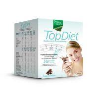 Power Health Top Diet Υποκατάστατο Γεύματος Με Γεύση Σοκολάτα 10*35g