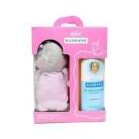 Klorane Bebe Απαλό Αφρόλουτρο Για Μαλλιά & Σώμα 2*500ml Έκπτωση 50% Στο 2ο Προϊόν & Δώρο Το Κουνελάκι Ροζ