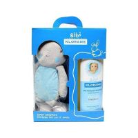 Klorane Bebe Απαλό Αφρόλουτρο Για Μαλλιά & Σώμα 2*500ml Έκπτωση 50% Στο 2ο Προϊόν & Δώρο Το Κουνελάκι Γαλάζιο