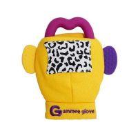 Gummee Glove Μασιτικά Γαντάκια 3-6m Κίτρινο