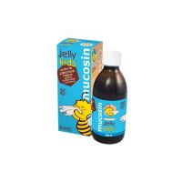 Jelly Kids Mucosin Παιδικό Συμπλήρωμα Διατροφής Για Ανοσοποιητικό & Βλεννογόνους 250ml