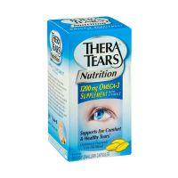 Thera Tears Eye Nutrition Συμπλήρωμα Διατροφής Για Την Ξηροφθαλμία Με Ω3 Λιπαρά & Βιταμίνη Ε 90 Μαλακές Κάψουλες