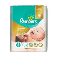 Pampers Premium Care New Baby Πάνες 2 3-6kg 20τμχ