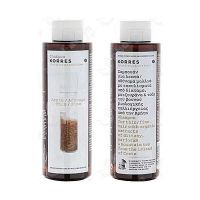 Korres Σαμπουάν για Λεπτά/Αδύναμα Μαλλιά με Πρωτεΐνες Ρυζιού & Τίλιο 250ml