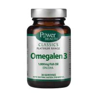 Power Health Classics Platinum Omegalen 3 1000mg Συμπλήρωμα Διατροφής 30 Κάψουλες