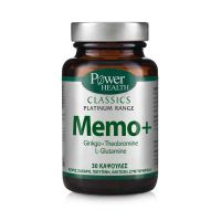Power Health Classics Platinum Memo+ Συμπλήρωμα Διατροφής Για Μνήμη & Συγκέντρωση 30 Κάψουλες