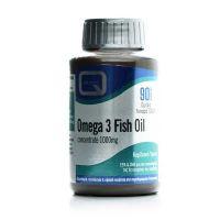 Quest Omega 3 Fish Oil 1000mg Συμπλήρωμα Διατροφής 90 Κάψουλες