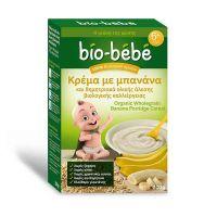 Bio-Bebe Κρέμα Με Μπανάνα & Δημητριακά Ολικής Άλεσης 200gr
