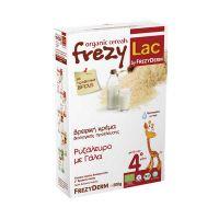 Frezylac Βιολογική Κρέμα Ρυζάλευρο Με Γάλα 4m+ 200gr