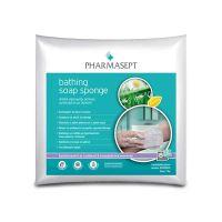 Pharmasept Απαλά Σφουγγαράκια Μπάνιου Μίας Χρήσης Με Σαπούνι 8+2τμχ