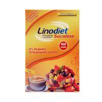 Linodiet Sucralose Γλυκαντικό Σε Στικς Με Σουκραλόζη 100τμχ