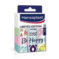 Hansaplast Limited Edition Be Happy Επιθέματα Για Την Προστασία Μικρών Πληγών 16 Ταινίες
