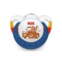 Nuk Trendline Disney Cars Πιπίλα Σιλικόνης 6-18m