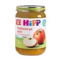 Hipp Φρουτόκρεμα Ροδάκινο Με Μήλο Βιολογικής Καλλιέργειας Από Τον 4ο Μήνα 190gr