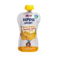 Hipp Hippis Sport Βιολογικό Παρασκεύασμα Φρούτων Με Μάνγκο, Μπανάνα, Πορτοκάλι, Αχλάδι & Ρυζάλευρο 12m+ 120g
