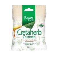 Power Health Cretaherb Caramels Καραμέλες Για Το Λαιμό & Το Βήχα Με Κρητικά Βότανα 60g