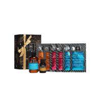 Apivita Φροντίδα Μαλλιών Gift Set Με Μάσκες Υαλουρονικό Οξύ, Πορτοκάλι, Ιπποφαές TC 6*20ml & Δώρο Σαμπουάν Ενυδάτωσης 75ml & Λάδι 20ml