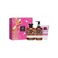 Apivita Pure Jasmin Gift Set Με Αφρόλουτρο Με Αιθέρια Έλαια 300ml & Ενυδατικό Γαλάκτωμα Σώματος 200ml & Δώρο Ενυδατική Κρέμα Χεριών 50ml