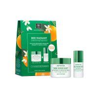 Apivita Bee Radiant Set Με Κρέμα Πλούσιας Υφής Για Κανονικό/Ξηρό Δέρμα 50ml & Κρέμα Ματιών 15ml