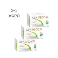 XL-S Medical Για Την Αντιμετώπιση & Πρόληψη Του Αυξημένου Σωματικού Βάρους 2*60 Δισκία & Δώρο 60 Δισκία