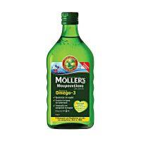 Moller's Μουρουνέλαιο Με Γεύση Λεμόνι 250ml