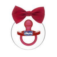 Chicco Physio Soft Limited Edition Πιπίλα Όλο Σιλικόνη Κόκκινο 12m+